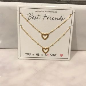 Jewelry - BEST FRIEND matching necklaces